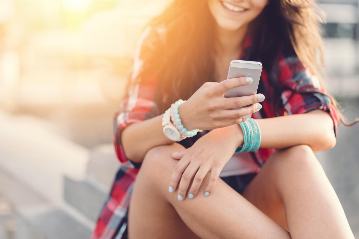 Mobilhandtag popsockets