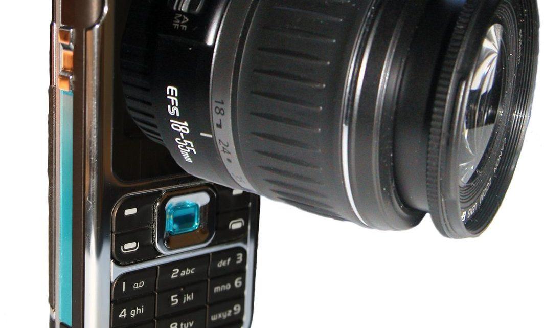 Utvecklingen av mobilkameror
